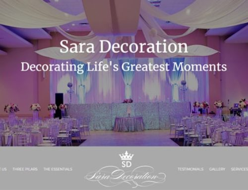 SARA DECORATION – REDIZAJNIRAN SAJT