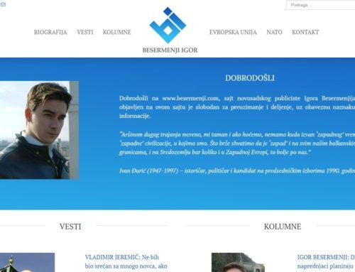 ZAVRŠEN SAJT BESERMENJI.COM