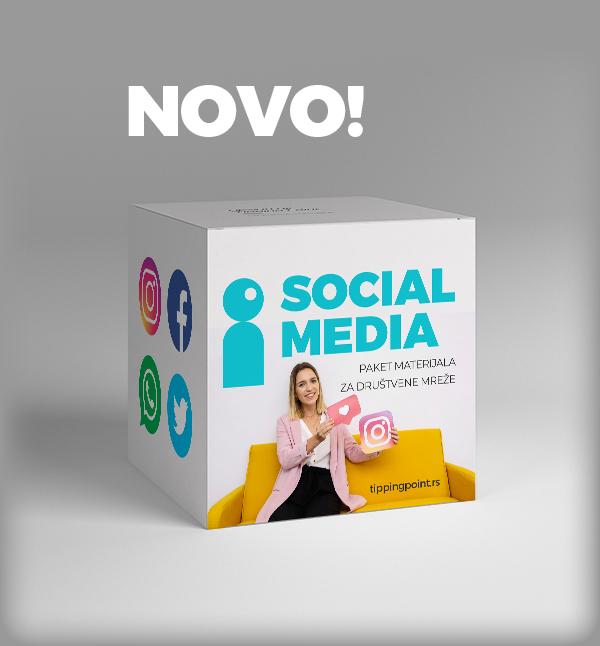 Tipping Point izrada sajtova paket društvene mreže Social Media PAKETI IZRADA SAJTOVA